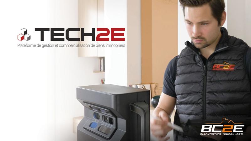 TECH2E plateforme de gestion et de commercialisation de bien
